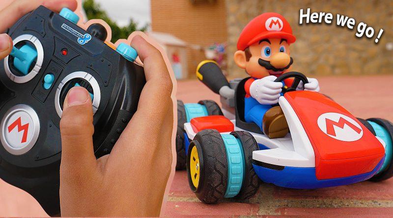Mario Kart en Vrai, dans notre jardin !
